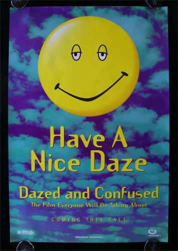 "poster for movie ""Dazed and Confused"""